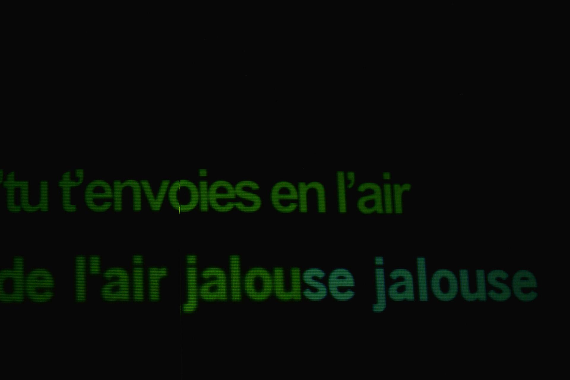 Jalousies - Karaoké